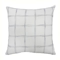 SONOMA Goods for Life™ Woven Check Feather Fill Oversized Throw Pillow