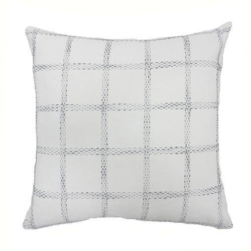 SONOMA Goods for Life® Woven Check Feather Fill Oversized Throw Pillow