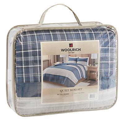 Woolrich 3-piece Flagship Reversible Quilt Set