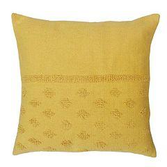 SONOMA Goods for Life™ Diamond Woven Stripe Feather Fill Throw Pillow