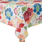 Celebrate Summer Together Floral Tablecloth