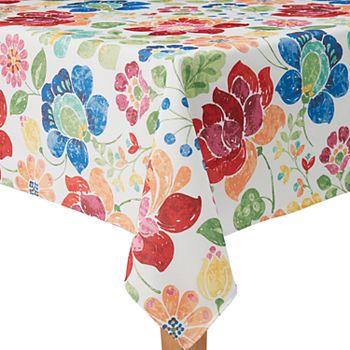 Celebrate Summer Together Floral Tablecloth