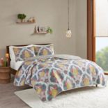 Intelligent Design Jayla Paisley Medallion Coverlet Set