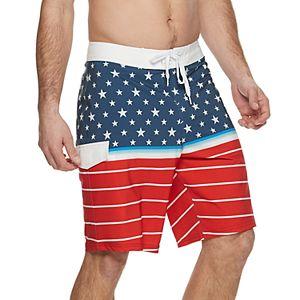 4c13b599b2 Men's Trinity Collective Striped Stretch Board Shorts. Sale