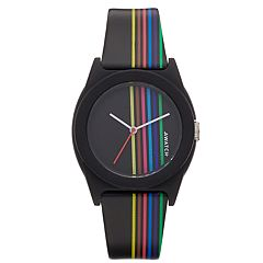 Armitron AWATCH Rainbow Striped Watch