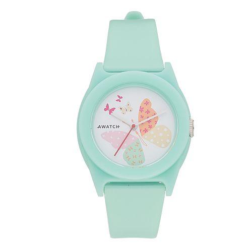 Armitron AWATCH Blue Butterfly Watch