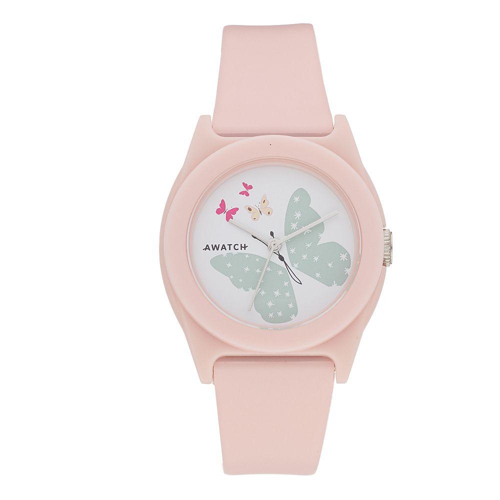Armitron AWATCH Pink Butterfly Watch