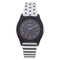 Armitron AWATCH Black & White Watch