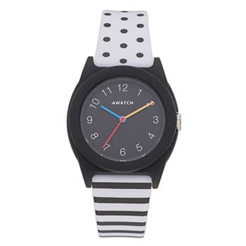Armitron AWATCH Black & White Watch