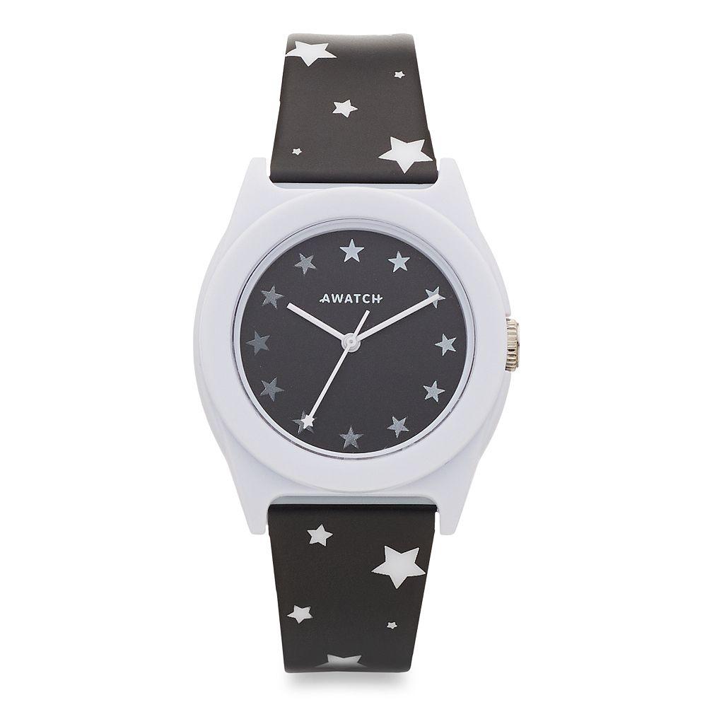 Armitron AWATCH Black & White Stars Watch
