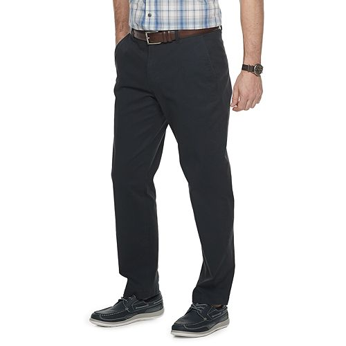 Men's Croft & Barrow® Straight-Fit Washed Easy-Care Chino Pants