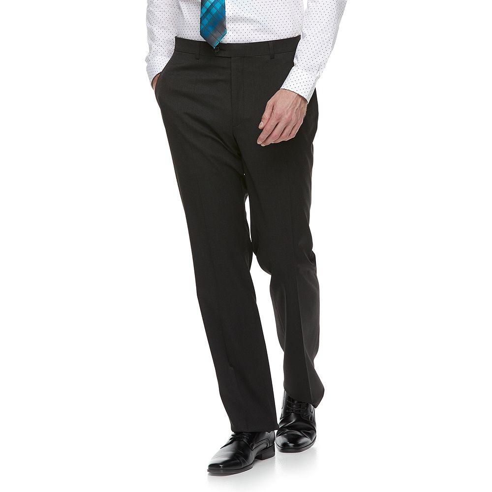 Men's Apt. 9® Regular-Fit Stretch Flat-Front Suit Pants