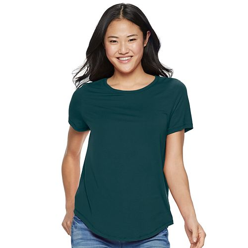 Juniors' SO® Favorite Crew Tee