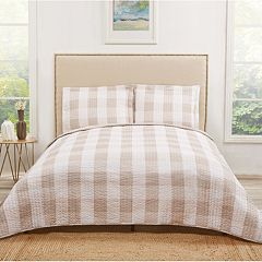 Truly Soft Everyday Buffalo Plaid Quilt Set