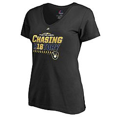 Women's Milwaukee Brewers 2018 Postseason Chasing History Tee