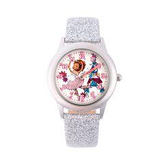 Disney's Fancy Nancy Kids' Glitter Time Teacher Watch