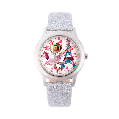 Disney's Fancy Nancy Kids' Glitter Time Teacher Watch