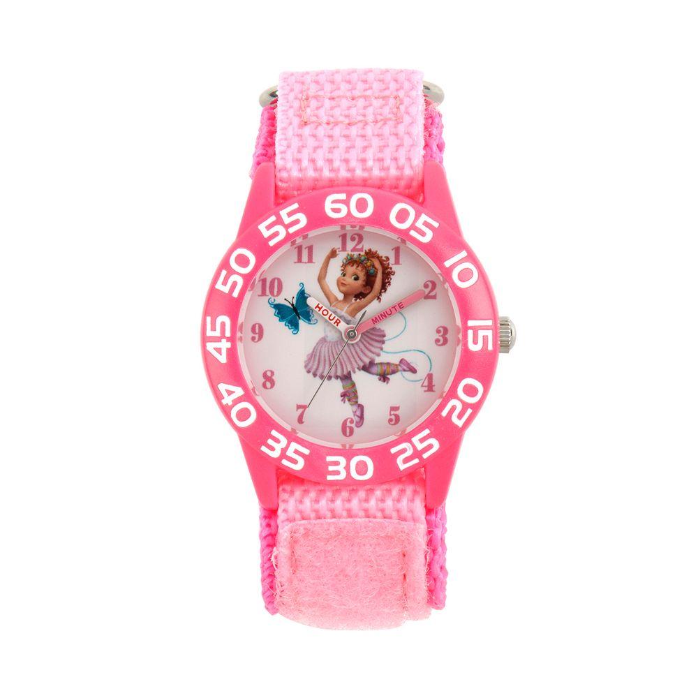 Disney's Fancy Nancy Kids' Pink Time Teacher Watch