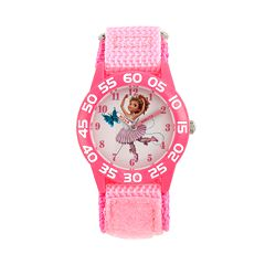 Disney's Fancy Nancy Kids' Pink Time Teacher Watch