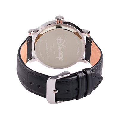 Disney's Mickey Mouse 90th Anniversary Men's Leather Watch