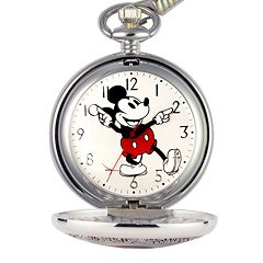 Disney's Mickey Mouse 90th Anniversary Men's Pocket Watch