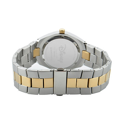 Disney's Mickey Mouse 90th Anniversary Men's Two Tone Stainless Steel Watch