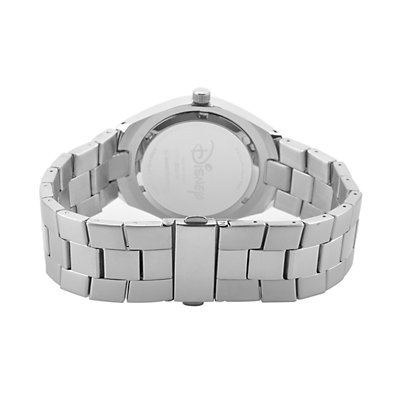 Disney's Mickey Mouse 90th Anniversary Men's Stainless Steel Watch