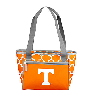 Logo Brand Tennessee Volunteers Quatrefoil 16-Can Cooler Tote