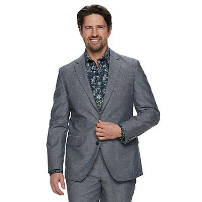 Men's Apt. 9® Slim-Fit Stretch Linen-Blend Suit Jacket