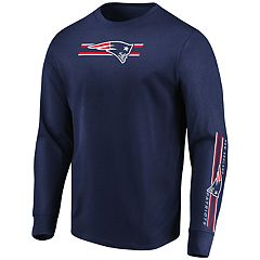 Men's New England Patriots Dual Threat Tee