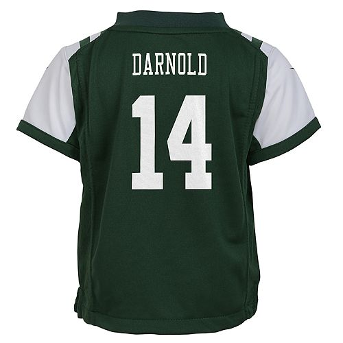 new concept 99730 d21be Boys 4-7 New York Jets Sam Darnold Team Jersey