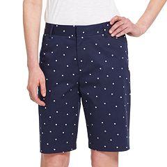 Women's IZOD Bermuda Shorts
