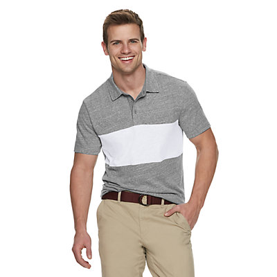 Men's SONOMA Goods for Life? Supersoft Colorblock Polo