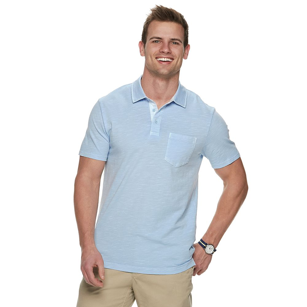Men's SONOMA Goods for Life® Supersoft Washed Pocket Polo