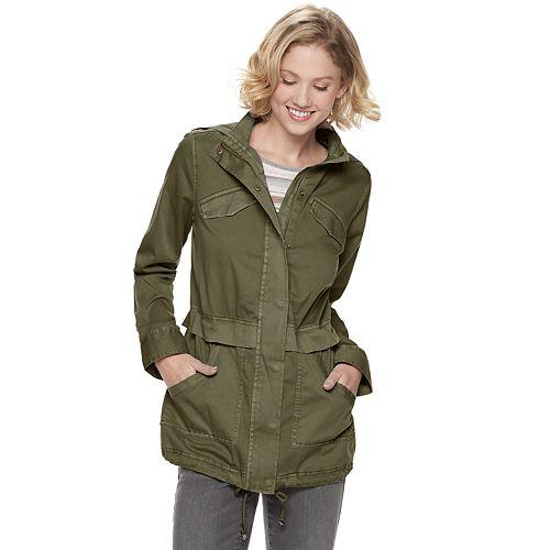 Women's SONOMA Goods for Life™ Long Utility Jacket