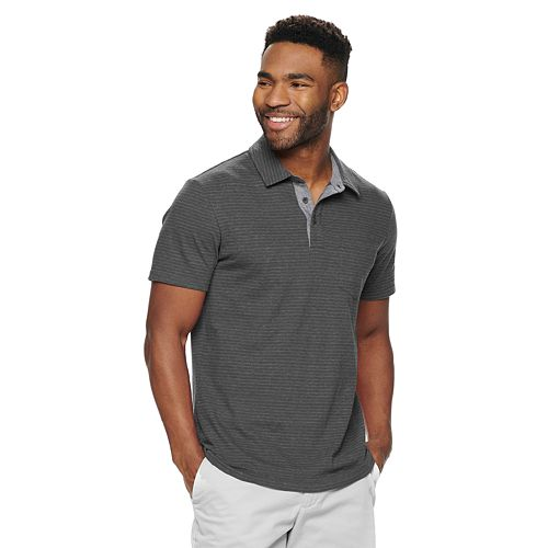 Men's SONOMA Goods for Life™ Supersoft Jersey Stripe Polo