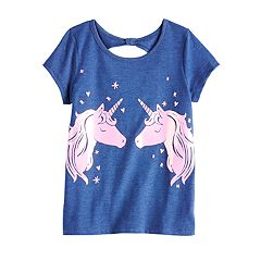 b9a9d24c Girls Graphic T-Shirts Kids Tops & Tees - Tops, Clothing | Kohl's