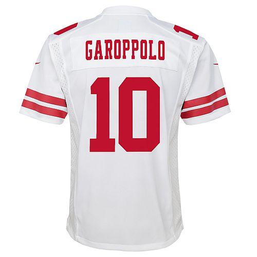 uk availability 1438b 93b04 Boys 8-20 San Francisco 49ers Jimmy Garoppolo Team Jersey