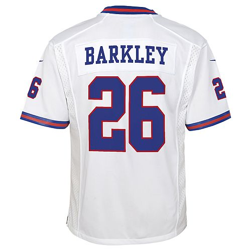 timeless design f7040 856f0 Boys 8-20 New York Giants Saquon Barkley Team Jersey