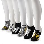 Disney's Lion King Women's 6-Pack No-Show Socks
