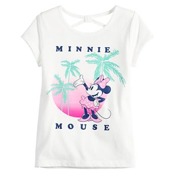 Disney's Minnie Mouse Girls 4-12 Minnie Mouse Palm Graphic Tee by Jumping Beans®