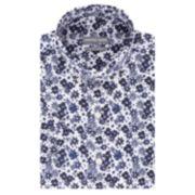 Men's Geoffrey Beene Slim-Fit Wrinkle-Free Short-Sleeved Dress Shirt