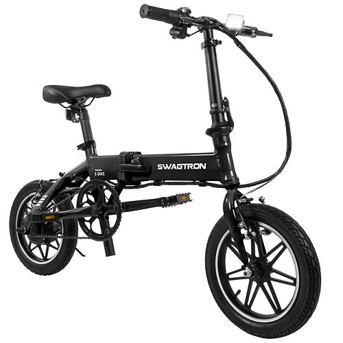 Swagtron SwagCycle EB Pro Folding Electric Bike with Power Assist
