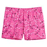 Girls 7-16 SO® Fitted Bike Shorts