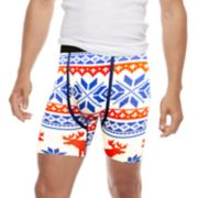 Men's Wear Your Life Holiday Novelty Boxer Briefs