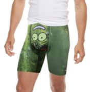 Men's PSD Rick & Morty Pickle Rick Novelty Boxer Briefs