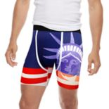 Men's Wear Your Life Americana Novelty Boxer Briefs