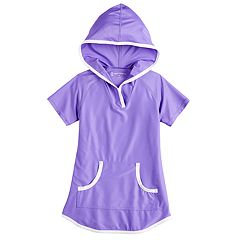 Girls 4-16 Free Country Mesh Hooded Swimsuit Cover-Up