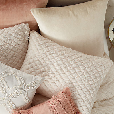 Peri Cozy Diamond Sherpa Comforter Set