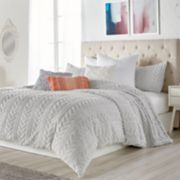Peri Cable Knit Comforter Set